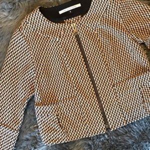 Diane von Furstenberg cropped jacket